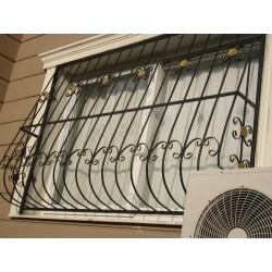 решетка за прозорец от ковано желязо